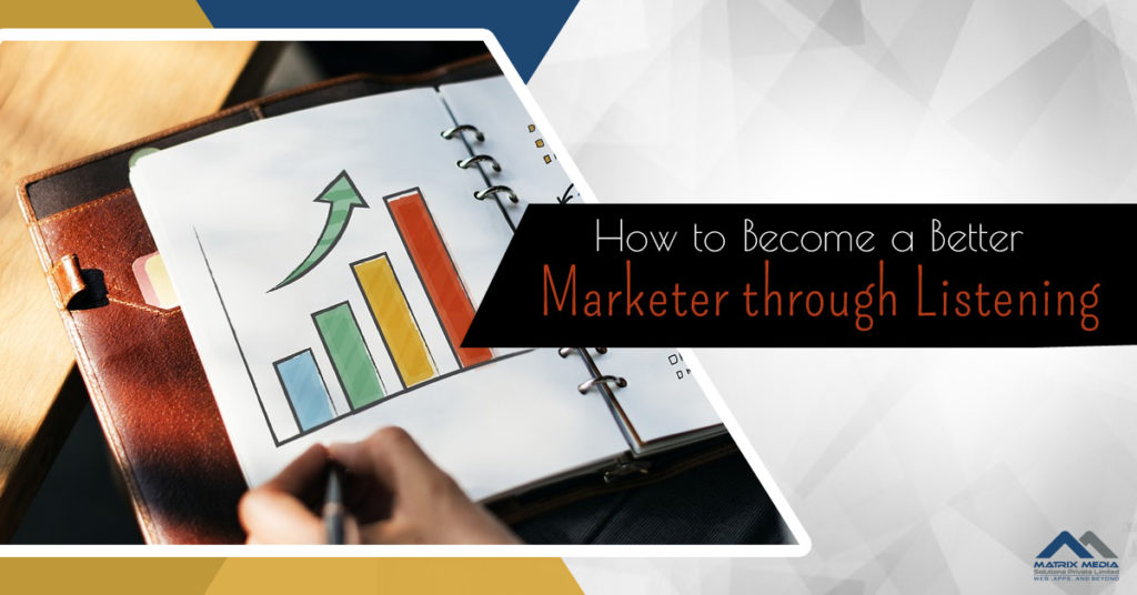 How to Become a Better Marketer through Listening