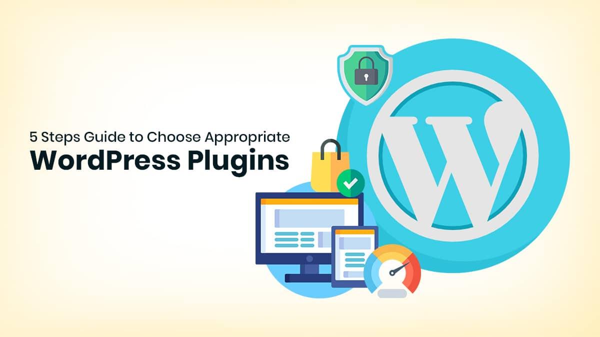 steps to choose wordpress plugin